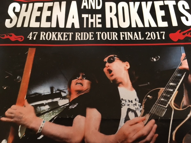SHEENA & THE ROKKETS LIVE